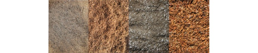 Todo tipo de sustratos tierra coco lana de roca etc